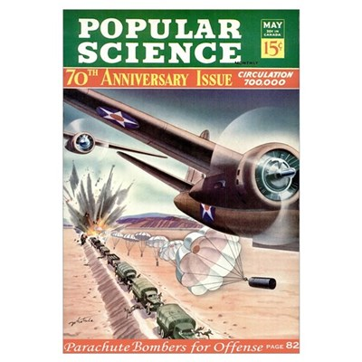Popular Science Cover, May 1942 Poster