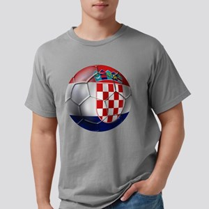 Croatian Football Mens Comfort Colors Shirt