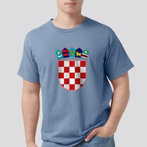 Croatia Hrvatska Emblem Mens Comfort Colors Shirt