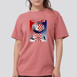 Croatian Football Womens Comfort Colors Shirt