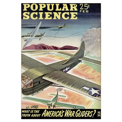 Popular Science Cover, March 1944 Poster