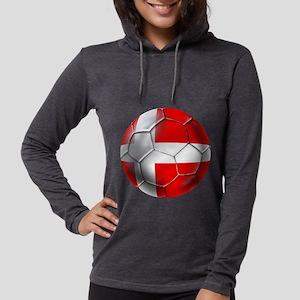 Danish Football Womens Hooded Shirt