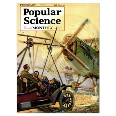 Popular Science Cover, March 1920 Poster