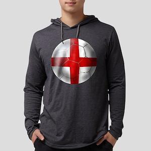 English Football Mens Hooded Shirt