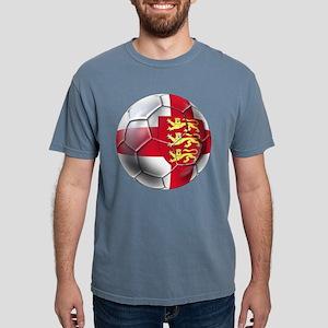 English 3 Lions Football Mens Comfort Colors Shirt