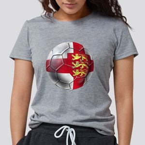 English 3 Lions Football Womens Tri-blend T-Shirt