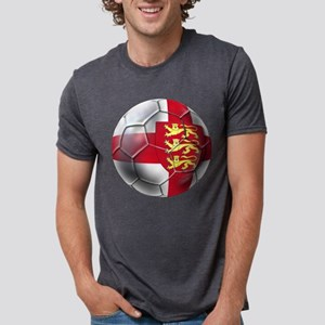 English 3 Lions Football Mens Tri-blend T-Shirt