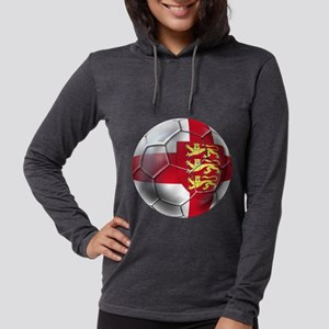 English 3 Lions Football Womens Hooded Shirt