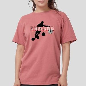 English Football Player Womens Comfort Colors Shir