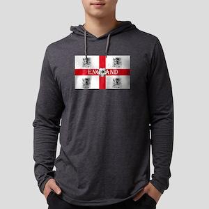 England Football Mens Hooded Shirt