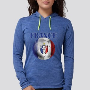 France Soccer Football Womens Hooded Shirt