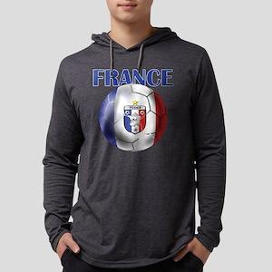 France Soccer Football Mens Hooded Shirt