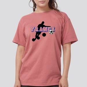 French Football Player Womens Comfort Colors Shirt