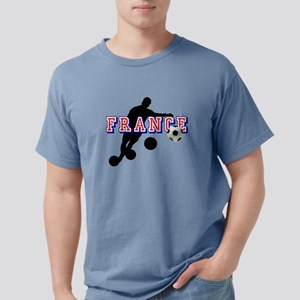 French Football Player Mens Comfort Colors Shirt