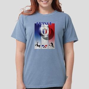 France Football Womens Comfort Colors Shirt