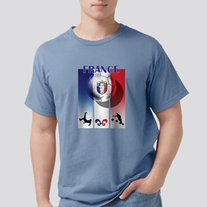 France Football Mens Comfort Colors Shirt