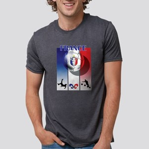France Football Mens Tri-blend T-Shirt