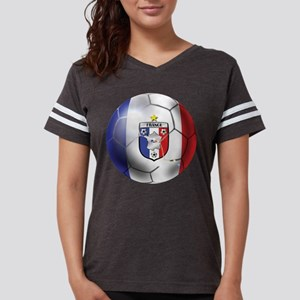 French Soccer Ball Womens Football Shirt