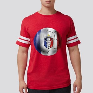 French Soccer Ball Mens Football Shirt