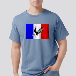 French Football Flag Mens Comfort Colors Shirt