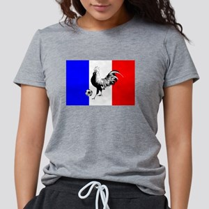 French Football Flag Womens Tri-blend T-Shirt