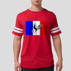 French Football Flag Mens Football Shirt