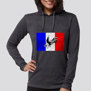 French Football Flag Womens Hooded Shirt