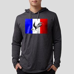 French Football Flag Mens Hooded Shirt
