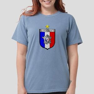 French Football Shiel Womens Comfort Colors® Shirt