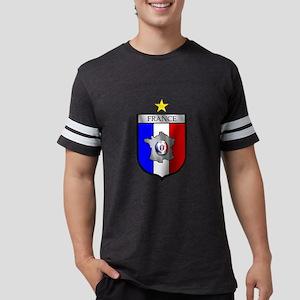 French Football Shield Mens Football Shirt