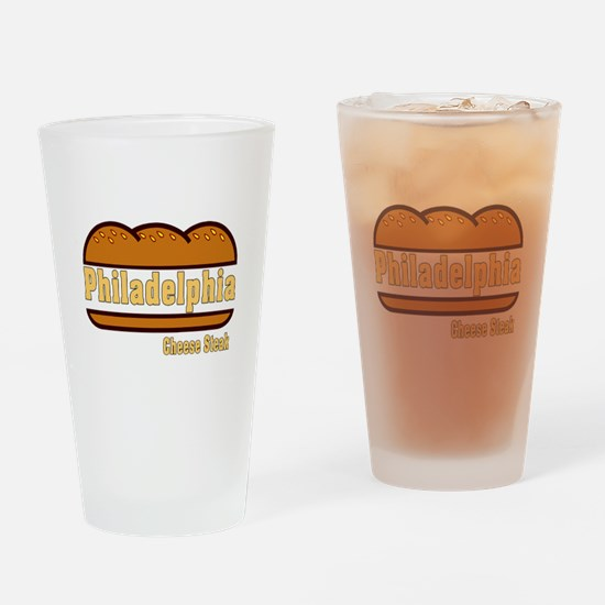 Philadelphia Cheesesteak Drinking Glass