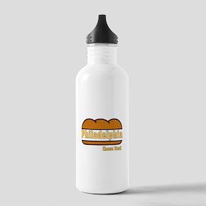 Philadelphia Cheesesteak Stainless Water Bottle 1.