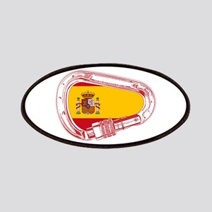 Spain Flag Climbing Carabiner Patch