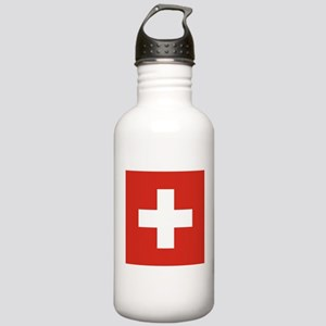 Flag of Switzerland Stainless Water Bottle 1.0L
