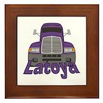 Trucker Latoya Framed Tile