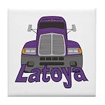 Trucker Latoya Tile Coaster