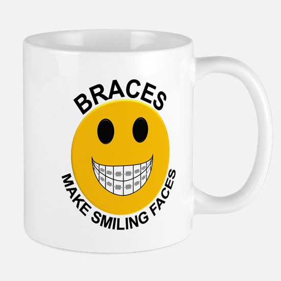 Braces Make Smiling Faces Mug