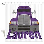 Trucker Lauren Shower Curtain