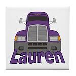 Trucker Lauren Tile Coaster