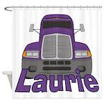 Trucker Laurie Shower Curtain