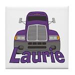 Trucker Laurie Tile Coaster