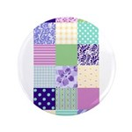 Girly pattern squares 3.5