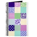 Girly pattern squares Journal