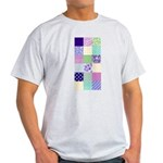 Girly pattern squares Light T-Shirt