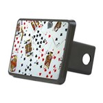 Playing Cards Rectangular Hitch Cover