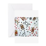 Playing Cards Greeting Card