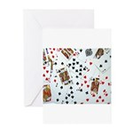 Playing Cards Greeting Cards (Pk of 10)