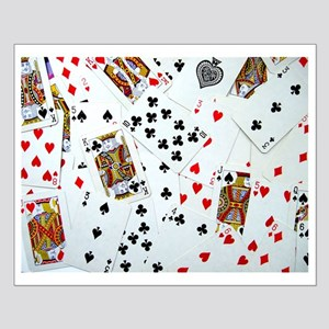 Playing Cards Small Poster