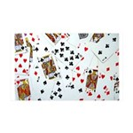 Playing Cards 35x21 Wall Decal