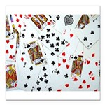 Playing Cards Square Car Magnet 3